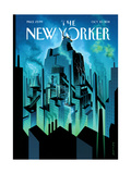 New Yorker Cover - October 10, 2011 Regular Giclee Print by Eric Drooker