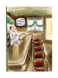The New Yorker Cover - March 19, 1955 Regular Giclee Print by Leonard Dove