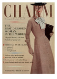 Charm Cover - March 1956 Reproduction proc&#233;d&#233; gicl&#233;e par Louis Faurer
