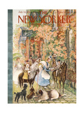 The New Yorker Cover - July 14, 1956 Giclee Print by Mary Petty
