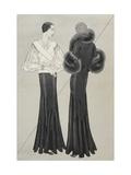 Vogue - January 1933 Giclee Print by Douglas Pollard
