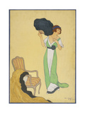 Vogue - October 1911 Regular Giclee Print by Helen Dryden