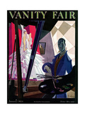 Vanity Fair Cover - January 1924 Regular Giclee Print by William Bolin