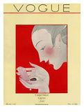 Vogue Cover - December 1923 Giclee Print by Georges Lepape