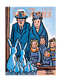 The New Yorker Cover - April 1, 1961 Regular Giclee Print par Peter Arno
