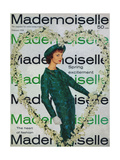Mademoiselle Cover - February 1958 Regular Giclee Print by Stephen Colhoun
