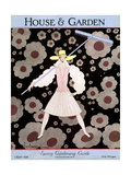 House & Garden Cover - March 1928 Giclee Print by Georges Lepape