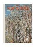 The New Yorker Cover - January 31, 1959 Giclee Print by Ilonka Karasz