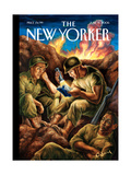 The New Yorker Cover - June 12, 2006 Regular Giclee Print by Owen Smith