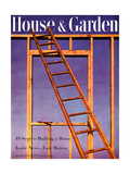 House & Garden Cover - February 1946 Regular Giclee Print by Haanel Cassidy