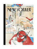 The New Yorker Cover - January 17, 2011 Giclee Print by Barry Blitt