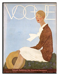 Vogue Cover - May 1929 Regular Giclee Print by Georges Lepape
