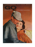 GQ Cover - January 1958 Regular Giclee Print by Emme Gene Hall