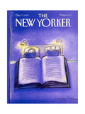 The New Yorker Cover - December 3, 1990 Regular Giclee Print by Eugène Mihaesco