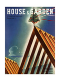 House & Garden Cover - March 1936 Regular Giclee Print by Joseph Binder