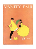 Vanity Fair Cover - April 1916 Regular Giclee Print by L. A. Morris