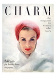 Charm Cover - December 1950 Reproduction proc&#233;d&#233; gicl&#233;e par Francesco Scavullo