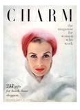 Charm Cover - December 1950 Regular Giclee Print by Francesco Scavullo