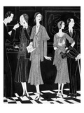 Vogue - April 1930 Regular Giclee Print by William Bolin