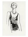 Vogue - December 1934 Regular Giclee Print by Porter Woodruff