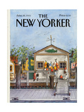 The New Yorker Cover - June 24, 1985 Regular Giclee Print by Albert Hubbell