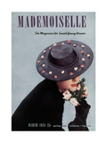 Mademoiselle Cover - March 1938 Regular Giclee Print by Paul D'Ome