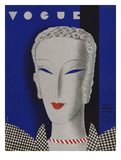 Vogue Cover - November 1932 Regular Giclee Print by Eduardo Garcia Benito