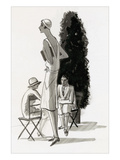 Vogue - July 1929 Regular Giclee Print by Porter Woodruff