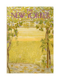 The New Yorker Cover - September 28, 1968 Giclee Print by Ilonka Karasz