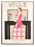 Vogue Cover - August 1923 Giclee Print by Georges Lepape