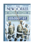 The New Yorker Cover - March 6, 2006 Regular Giclee Print by Eric Drooker