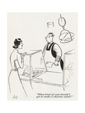 Gourmet - June, 1941 Regular Giclee Print by  Lloyd