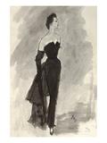 "Vogue - October 1954 Giclee Print by Carl ""Eric"" Erickson"