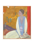 Vogue - October 1925 Giclee Print by Georges Lepape