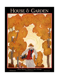 House & Garden Cover - November 1926 Giclee Print by Georges Lepape
