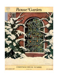 House & Garden Cover - December 1917 Regular Giclee Print by Ethel Franklin Betts Baines
