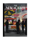 The New Yorker Cover - June 1, 2009 Regular Giclee Print by Jorge Colombo
