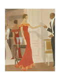 Vogue - December 1933 Giclee Print by Eduardo Garcia Benito