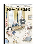 The New Yorker Cover - September 19, 2005 Regular Giclee Print by Barry Blitt