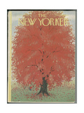 The New Yorker Cover - October 18, 1952 Giclee Print by Edna Eicke