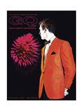 GQ Cover - November 1960 Regular Giclee Print by Leon Kuzmanoff