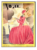 Vogue Cover - April 1927 Regular Giclee Print by William Bolin