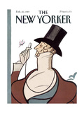 The New Yorker Cover - February 20, 1989 Regular Giclee Print by Rea Irvin