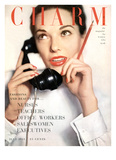 Charm Cover - July 1951 Reproduction proc&#233;d&#233; gicl&#233;e par Ernst Beadle