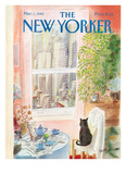 The New Yorker Cover - March 1, 1982 Reproduction procédé giclée par Jean-Jacques Sempé