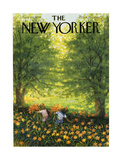 The New Yorker Cover - June 20, 1959 Giclee Print by Edna Eicke