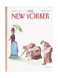 The New Yorker Cover - June 18, 1990 Regular Giclee Print by J.B. Handelsman