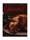 Gourmet Cover - November 2004 Regular Giclee Print by Romulo Yanes