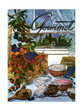 Gourmet Cover - July 1953 Giclee Print by Henry Stahlhut