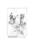 The American Golfer Cartoon February 9, 1924 Regular Giclee Print